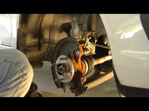 How to Replace the front brakes on a 2014 Ford Fiesta