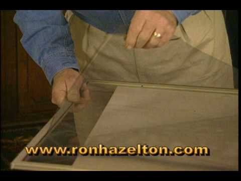 How to Replace a Door or Window Screen