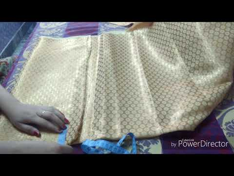 24 Kali , anarkali suit cutting in hindi