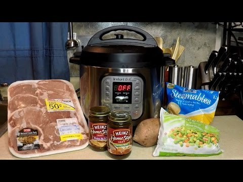 Instant Pot Pork Stew Pressure Cooker