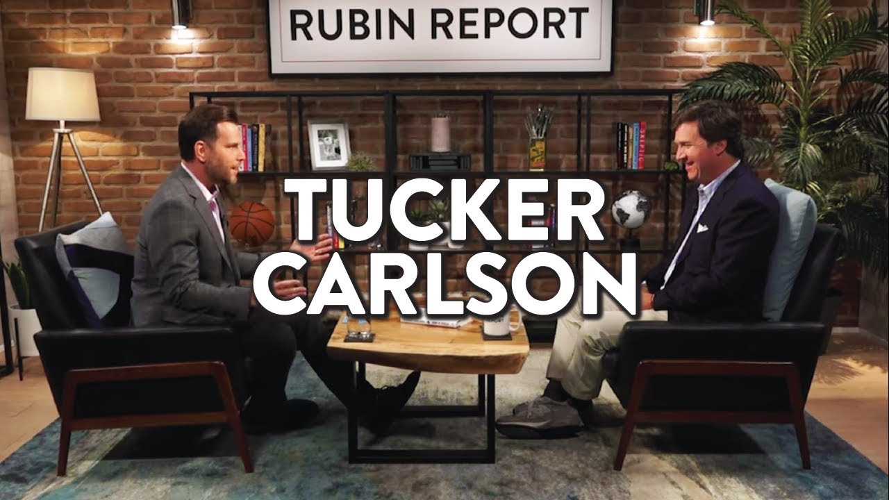 On Trump, Mainstream Media, and Revolution | Tucker Carlson | MEDIA | Rubin Report
