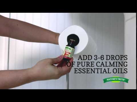 Nature's Truth Aromatherapy DIY - Toilet Paper Roll Freshner