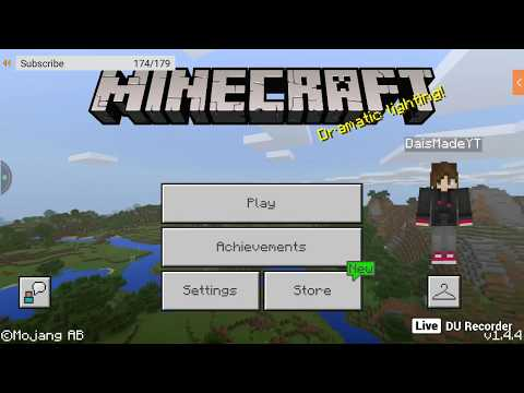 MCPE REALMS!  SMP EP. 1 JOIN MY REALM!