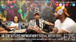 50 Cent & Floyd Mayweather social media beef, Offset arrest