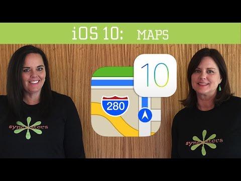 iOS 10 - Maps App