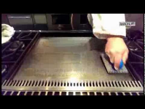 How to clean a Wolf Griddle