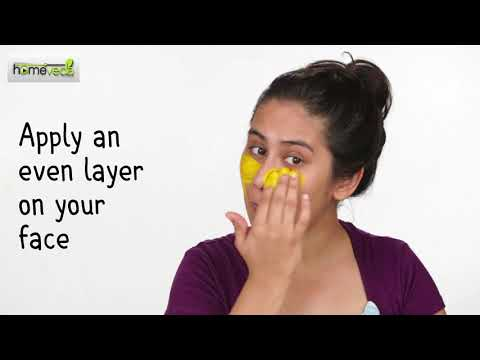 Turmeric Gives Skin A Natural Glow! DIY Remedies - Homeveda