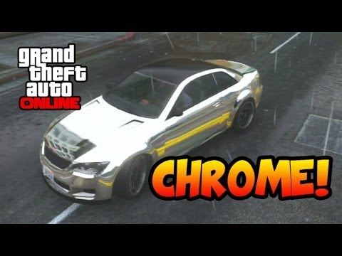 GTA 5 Online How to Get Chrome Paint Job for Free Without Winning Any Races