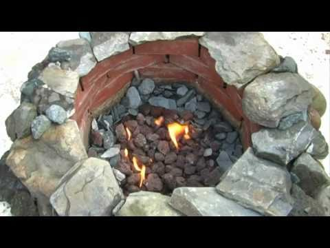 How NOT to Make a Gas Fire Pit From Scratch