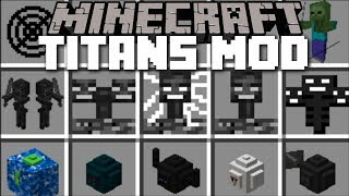Minecraft Titans Mod / Fight Off Evil Titans And Watch The End Of The World!! Minecraft
