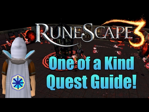 Runescape 3: One of a Kind Quest Guide!