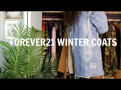 Forever 21 Try On Haul Cheap Faux Fur Jackets Coats 2016 Winter Must