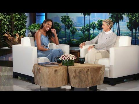 'Pitch'Star Kylie Bunbury Meets Ellen