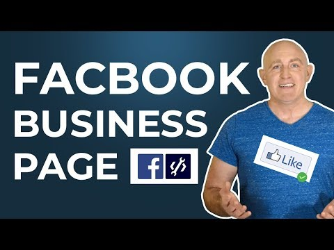 Create a Facebook Business Page - 2019