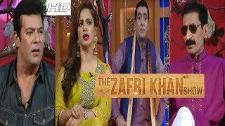 The Zafri Khan Show -1st Episode - Noor And Iftekhar Thakur and Mumamer Rana