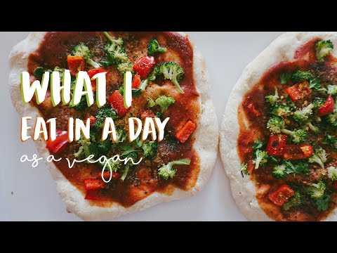 What I Eat On A Busy Work Day//Vegan + Easy