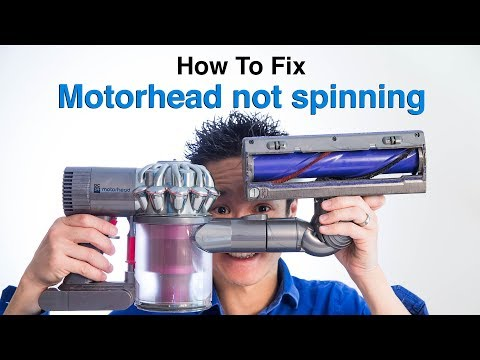 How To Fix Dyson DC59 V6 motorhead not spinning