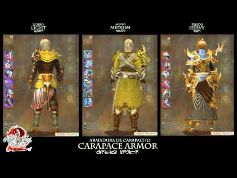 Guild Wars 2: Carapace Armor (Human Male)