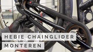 Hebie Chainglider monteren / demonteren - Fiets kettingkast