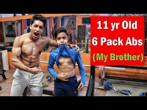 11 Year Old Aesthetic Bodybuilder - Next Jeff Seid