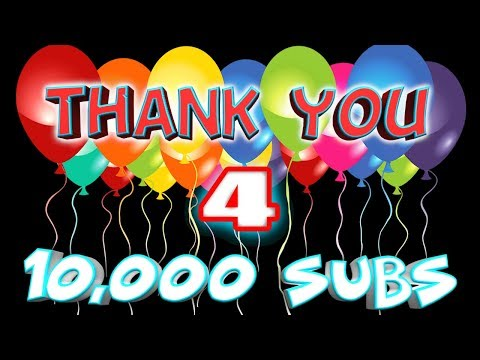 I Finally Reached 10,000 Subscribers (10,000 Subscriber Celebration) Getting 10K Subscribers