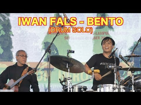 IWAN FALS - BENTO (DRUM SOLO) - YOIQBALL DRUMCAM