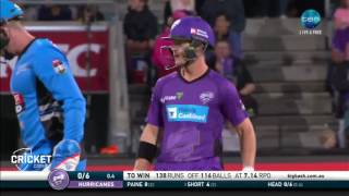 Highlights: Hurricanes v Strikers - BBL06