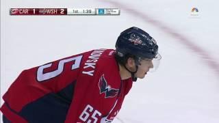 Ward robs Burakovsky with dramatic glove save