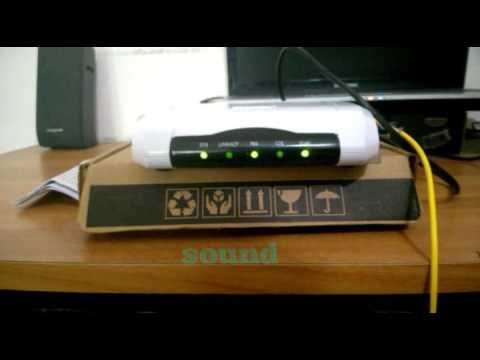 How to configure a fibre broadband connection(Railwire,Asianet Broadband etc.)