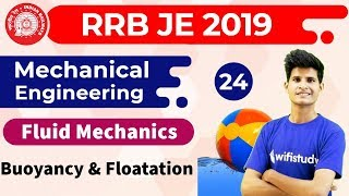 6:00 AM - RRB JE 2019 | Mechanical Engg by Neeraj Sir | Buoyancy & Floatation