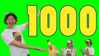 Count to 1000 by 1s | Math Chant Learn Numbers | Dream English Kids