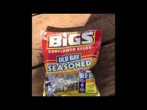 Old Bay Seasoned Sunflower Seeds