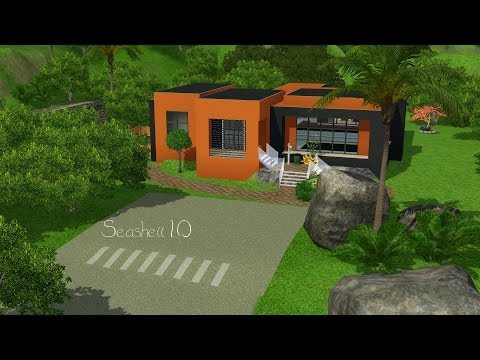 The Sims 3 building a House   Seashell 10