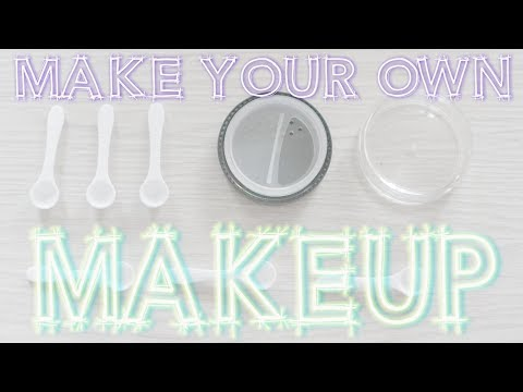 How To Make Highlighters, Eyeshadows, Bronzers & Blushes  | DIY Mineral Makeup Tutorial
