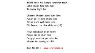 OK JAANU  Lyrics Full Song Lyrics Movie - OK JAANU