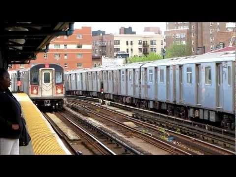 Bronx and Manhattan Subway of New York City 2012!