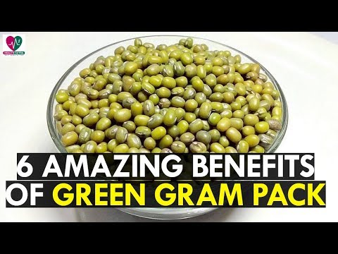 6 Amazing Homemade Green Gram Face And Hair Packs