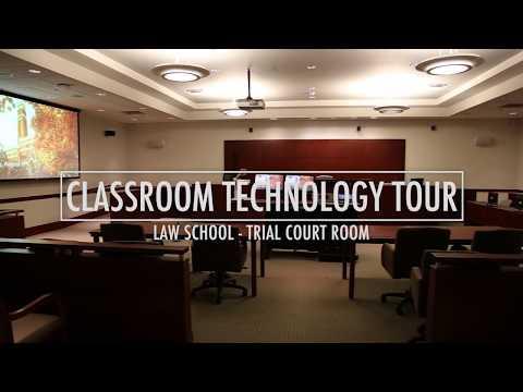 Vanderbilt Law School Trial Court Room - Classroom Technology Tour