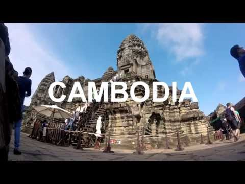 South East Asia in 60 seconds GOPRO (Thailand, Laos, Vietnam, Cambodia)