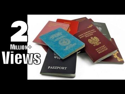 10 World's Most Powerful Passports (2016/2017)