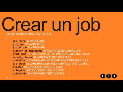Jobs oracle parte1/2. Teoría.