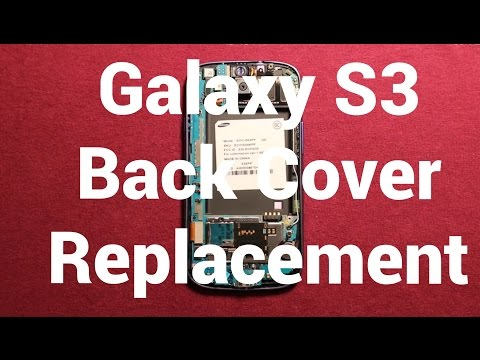 Galaxy S3 Back Cover Replacement How To Change