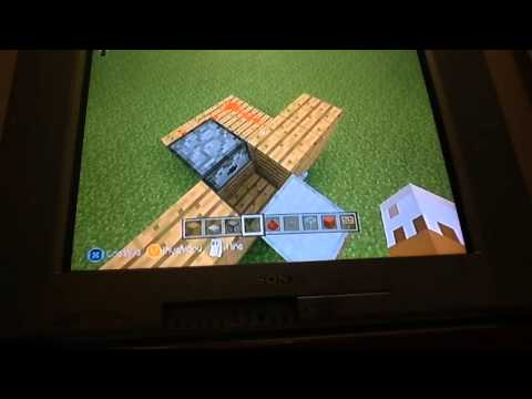 How to make a minecraft Xbox 360 popcorn machine