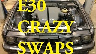 Bmw E30 M52B28 +m50 intakemanifold + sport exhaust manifold