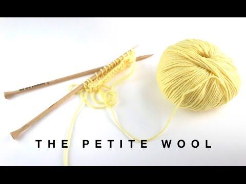 Petite Wool Yarn Balls | We Are Knitters