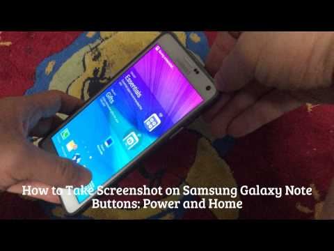 How to Take Screenshot on Smartphones (iPhone, Samsung Galaxy Note, HTC One)
