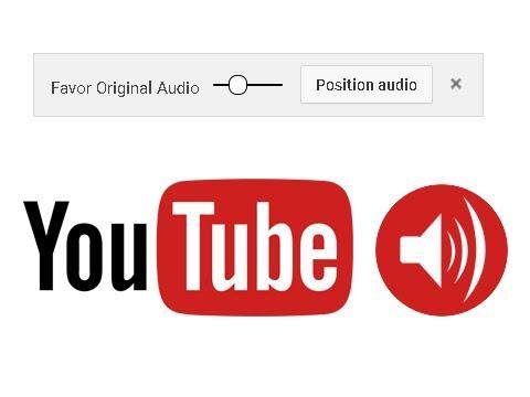 💻 YouTube Fix Favor Audio Slide Bar
