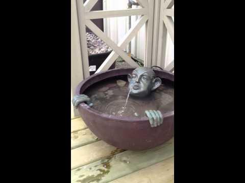 Man in Barrel Fountain