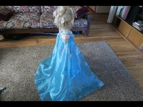 DIY #Elsa Frozen Child's  Cape