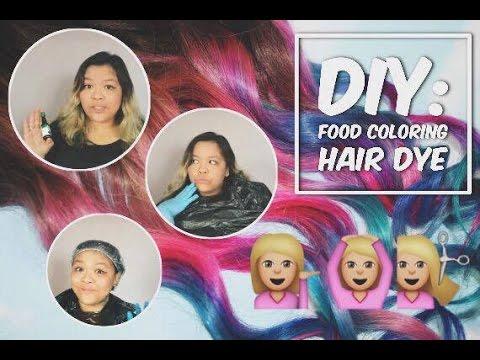 DIY? Y NOT! - Food coloring hair dye